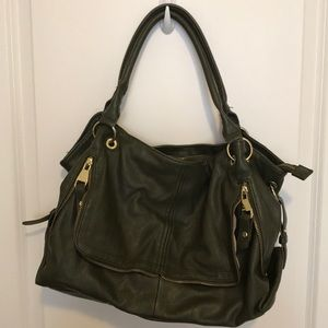 Dark green Steven Madden shoulder bag